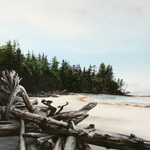 Beginning of the Trail (Lepas Bay - Haida Gwaii)