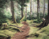 The Path - a Watercolour Original